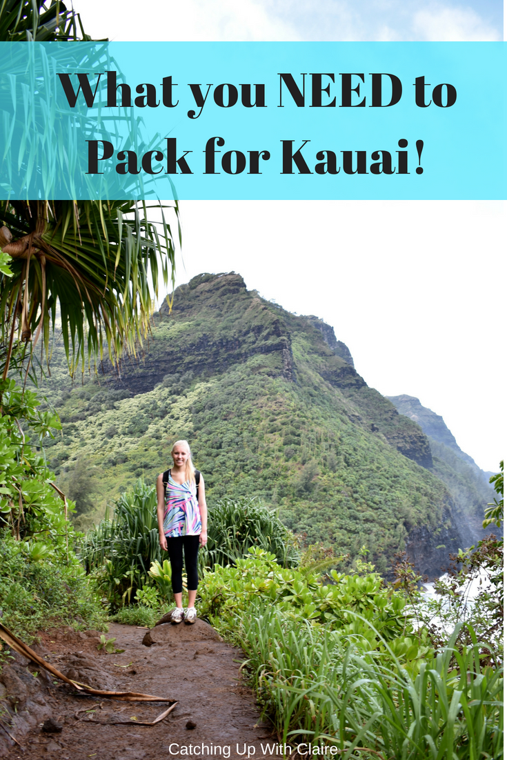 What to Pack for Kauai, Hawaii