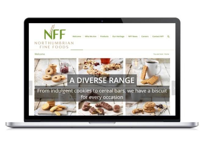 Northumbrian Fine Foods website