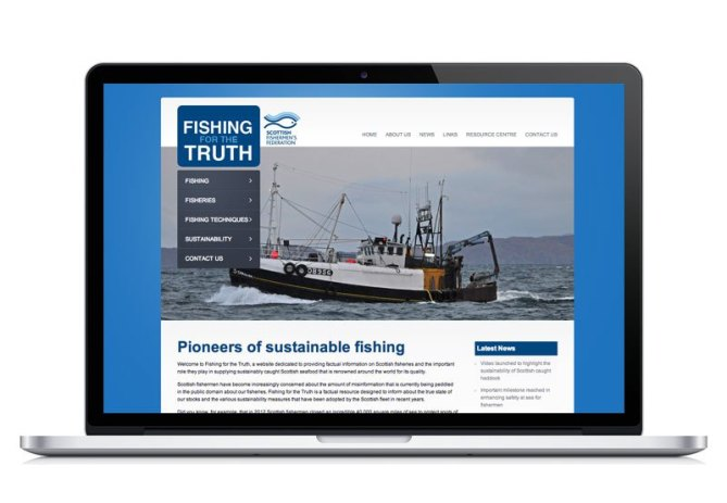 Fishing For The Truth website