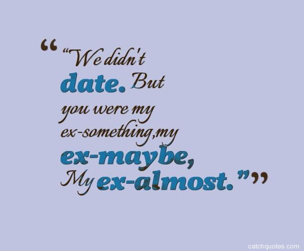 Can my you ex quotes have The 45