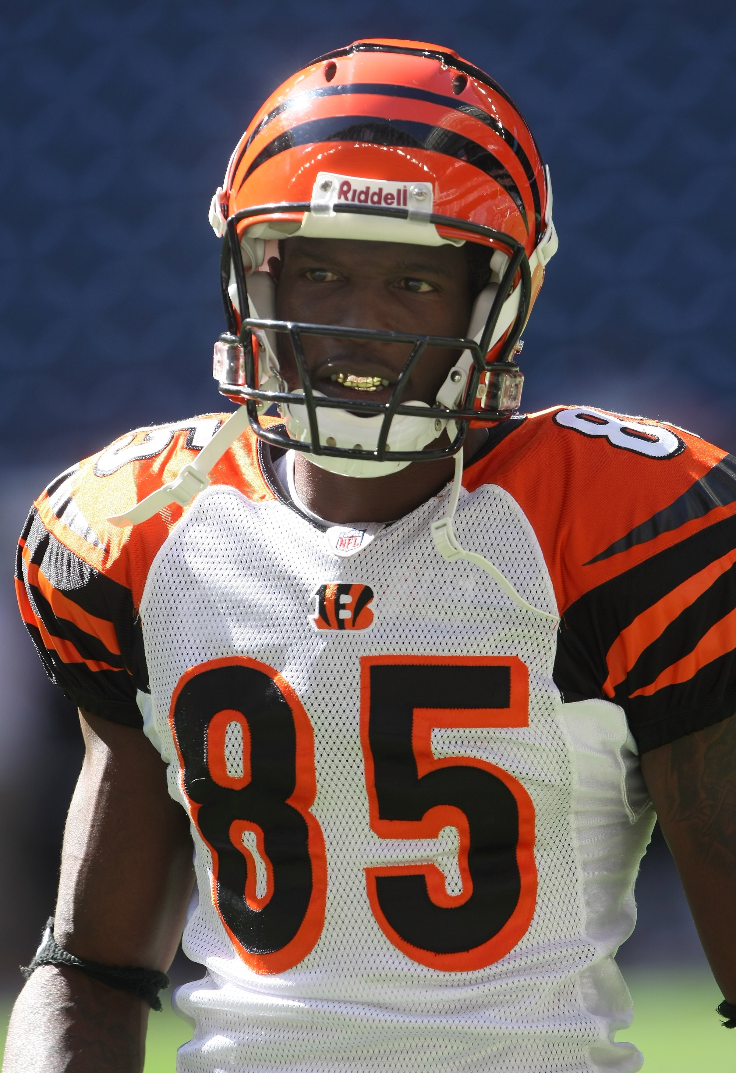 Team effort: Ochocinco has a flavour for the individual, but has bought into the team ethic
