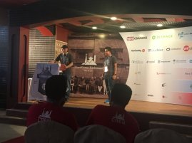 Pratik Shrestha sharing his first contribution to WordPress