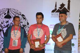 (L to R) Yam B. Chhetri, Sakin Shrestha and Ujjwal Thapa