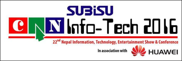 Subisu CAN Info-Tech 2016 Logo