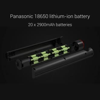 Panasonic 18650 lithium-ion batteries
