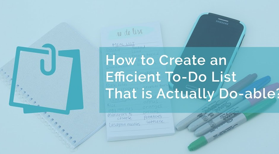 How to Create an Efficient To-Do List?