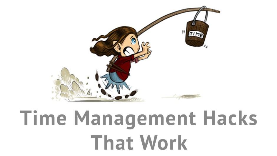 time management hacks that work