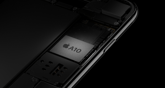 A10 Processor: The fastest yet. Image Credit: Apple
