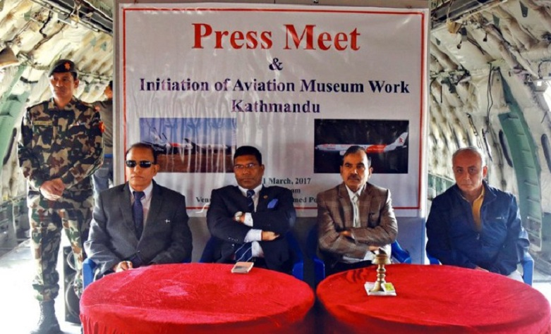 Kathmandu Aviation Museum Press Meet