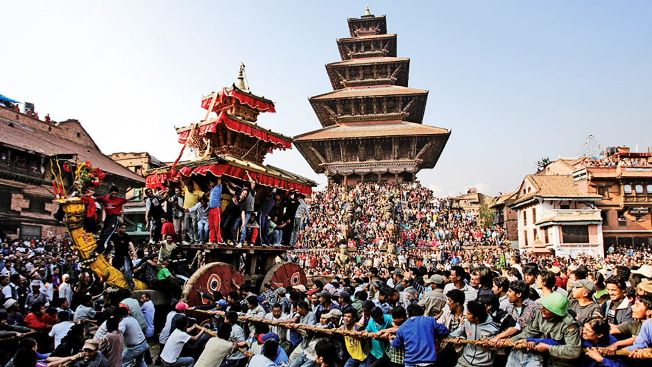 Bisket Jatra Celebration