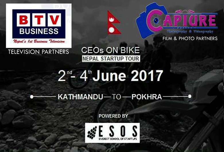 CEOs on Bike: Nepal Startup Tour