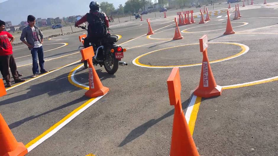 Road test for driving license. Image Source: Nirman Sanchar