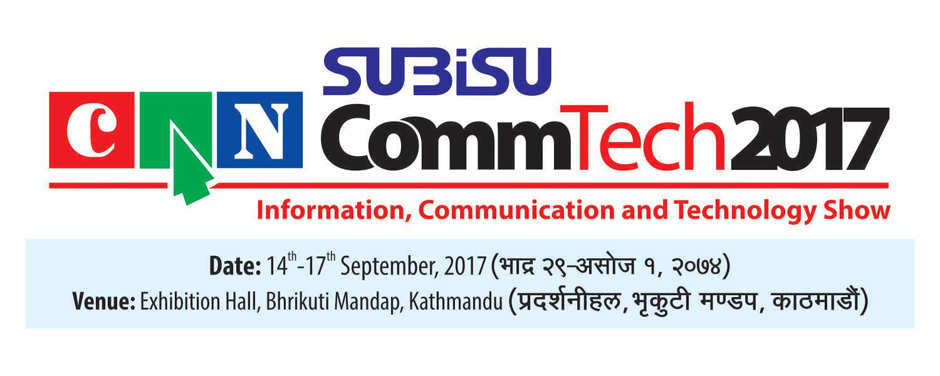 Subisu CAN CommTech 2017 banner. Image Source: Facebook
