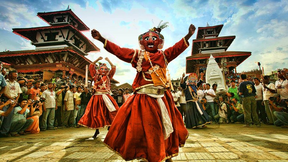 indra jatra the biggest festival in the city of festivals kathmandu