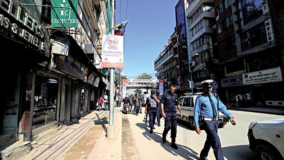 Undercover cops to take action against honkers in the valley. Image Source: The Himalayan Times