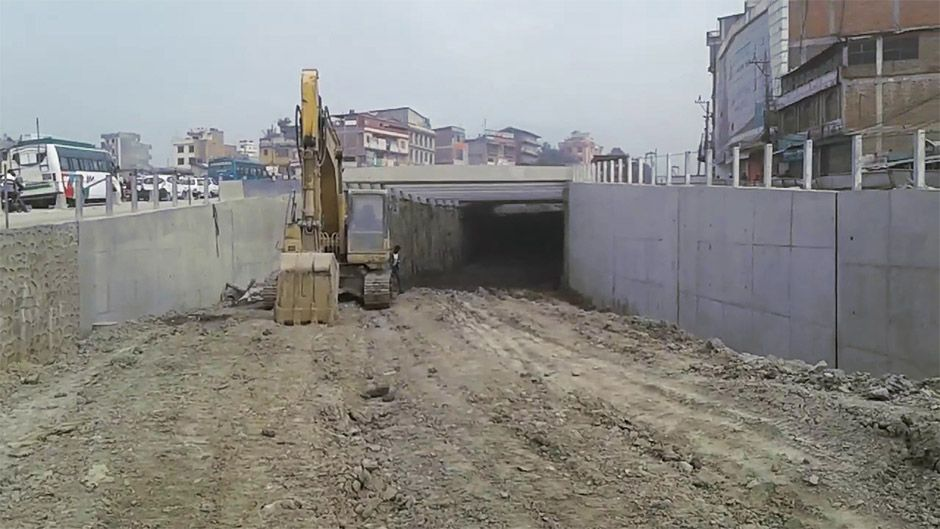Kalanki Underpass to be ready in 5 months