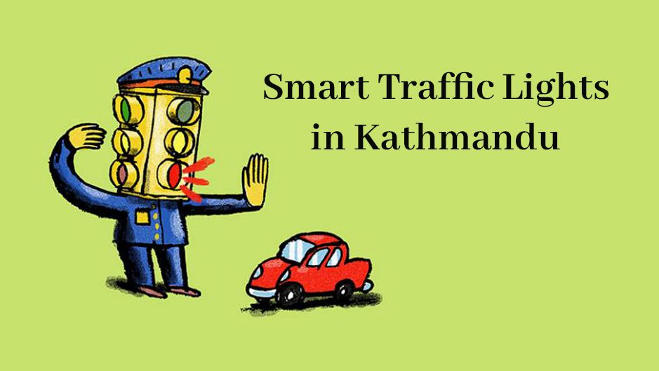 smart traffic lights in kathmandu