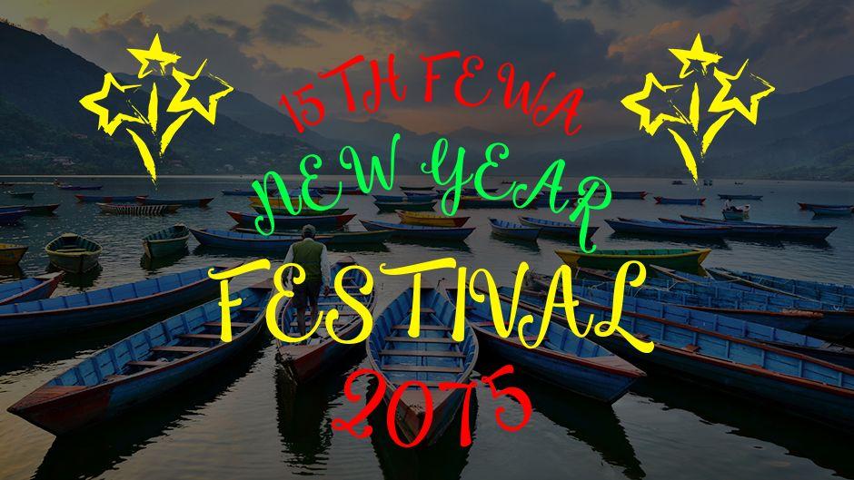 15th Fewa New Year Festival 2075.