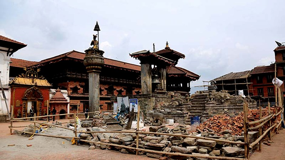 Heritage Rebuilding Project Pulled Off | German Development Bank. Image Source: The HImalayan Times