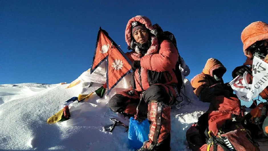 Ngima-Nuru-Sherpa - the youngest mountaineer in the world to climb mount everest for 21st time
