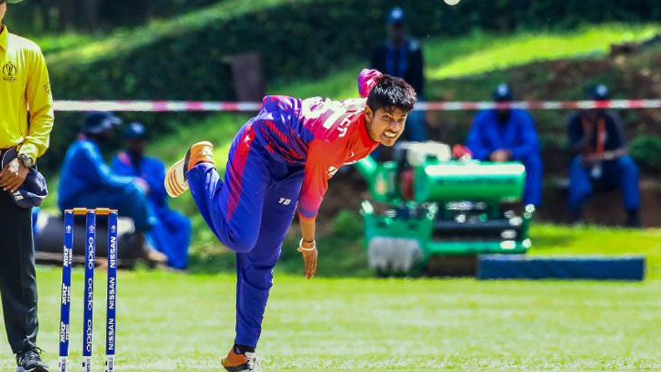 Sandeep Lamichhane selected for ICC World XI