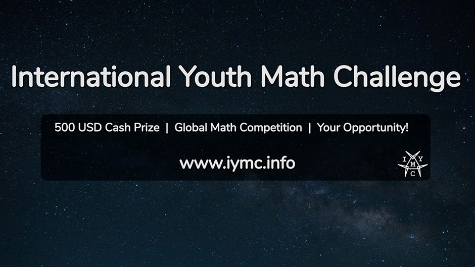 International Youth Math Challenge 2018 is one of the biggest online math competition for students from all around the world. Entries for the competition can be made by the interested individuals by 30th of September 2018. Image Source: IYMC