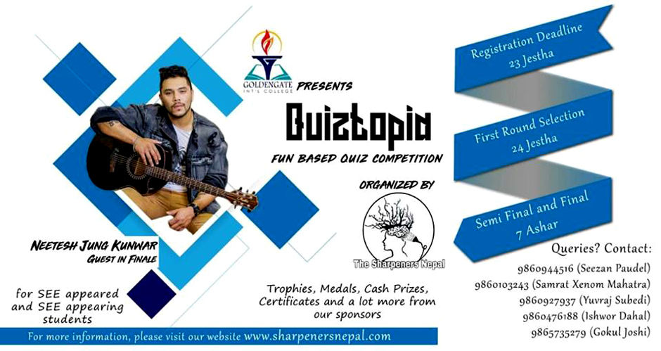 QUIZTOPIA, A Fun Based Quiz in the Valley. Image Source: Facebook