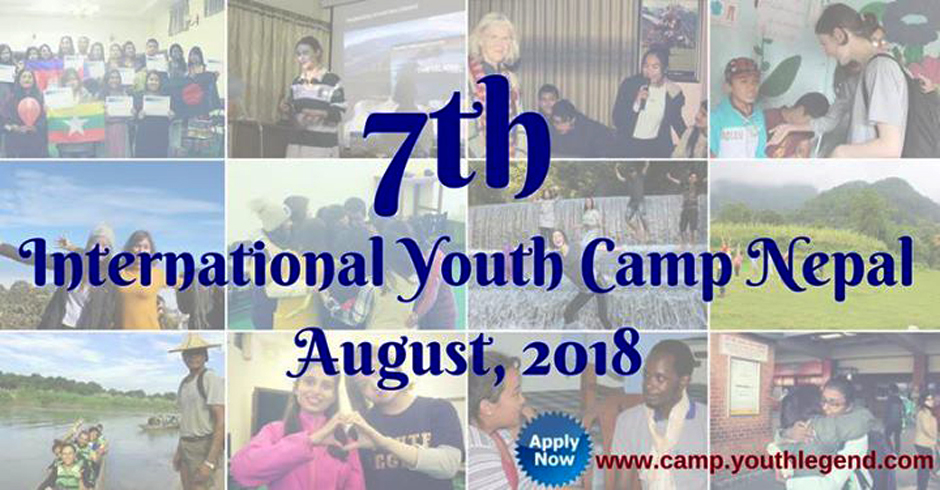 7th International Youth Camp Nepal. Image Source: Facebook
