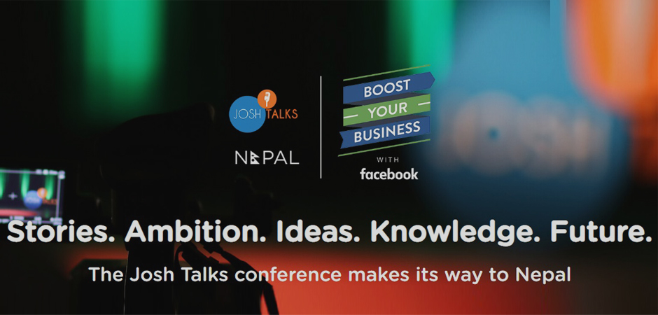 Josh Talks Nepal 2018 all set for September! Image Source: Josh Talks