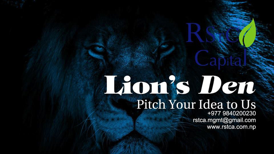 Lion's Den – Pitch Your Idea to The Investors. Image Source: Facebook