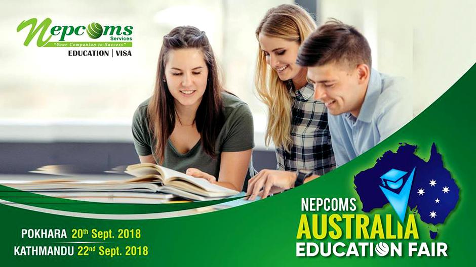 Nepcoms Australia Educational Fair 2018. Image Source: Facebook