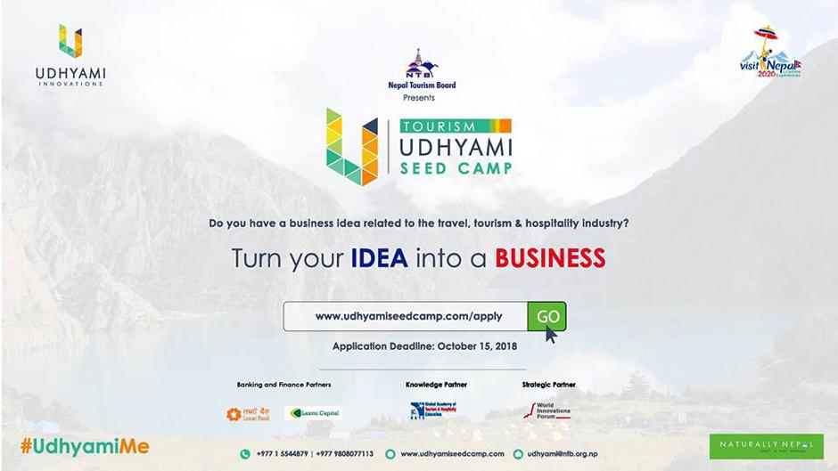 Tourism Udhyami Seed Camp 2018. Image Source: Facebook