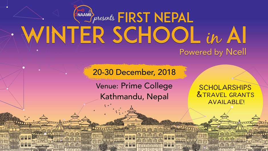 First Nepal Winter School in AI – 2018. Image Source: Google