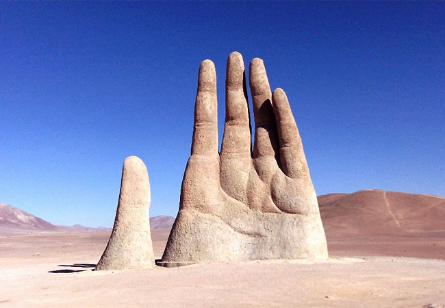 Hand of the Desert. Image Source: Charismatic Planet