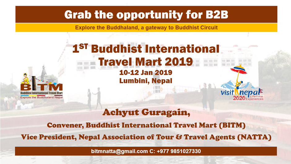 Buddhist International Travel Mart 2019. Image Source: Twitter