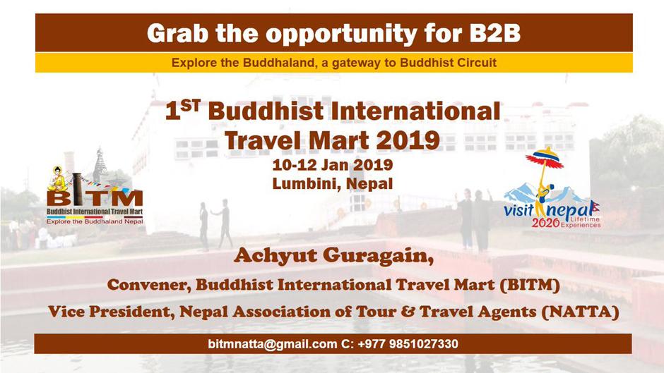 Buddhist International Travel Mart 2019. Image Source: Twitter