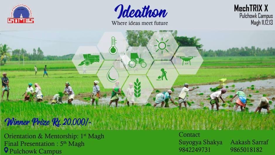 Ideathon – Where Ideas Meet Future. Image Source: HamroLagi