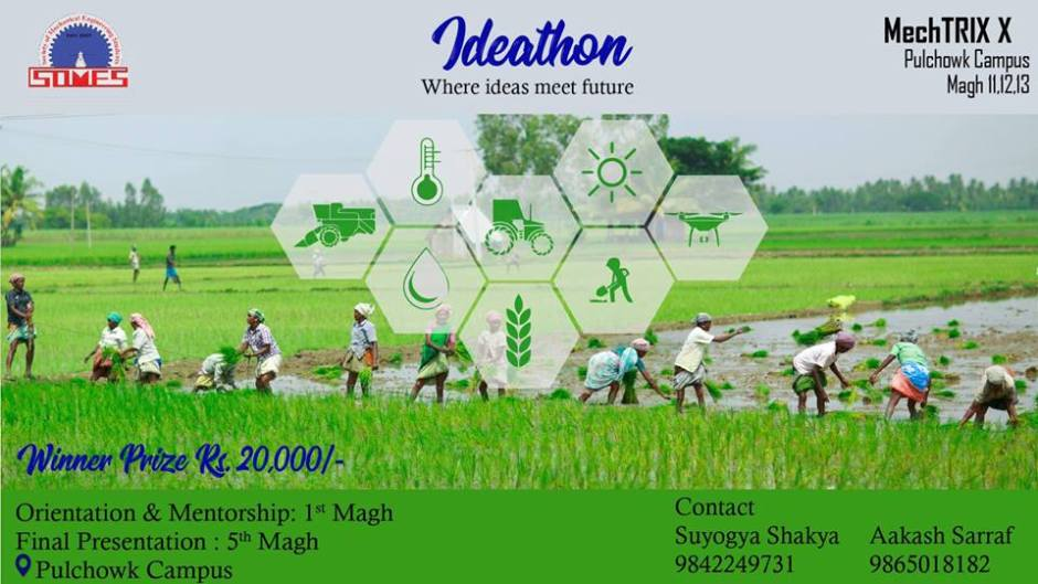 Ideathon – Where Ideas Meet Future. Image Source: HamroLagi