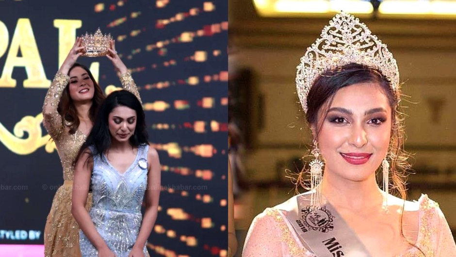 Anushka Shrestha Crowned Miss Nepal 2019
