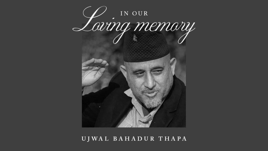 Ujwal Thapa Passes Away at 44 facebook image