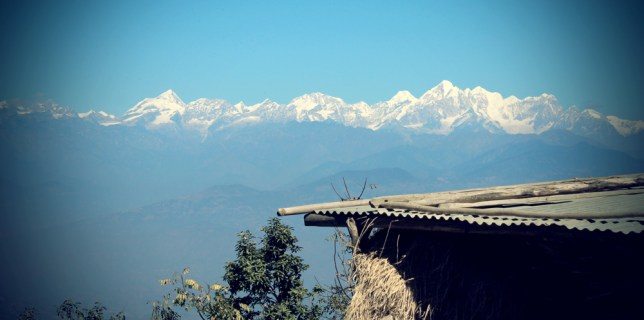 Beautiful View from NamoBuddha