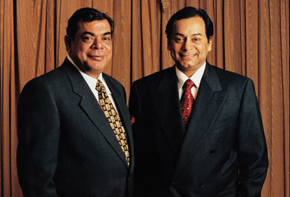 Richest person of India - Ravi and Shashi Ruia