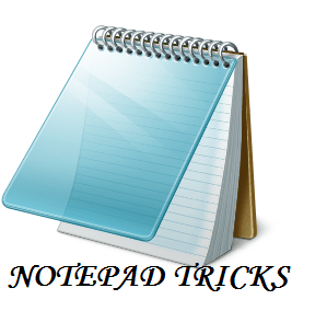 7 Cool Notepad tricks to scare your friends
