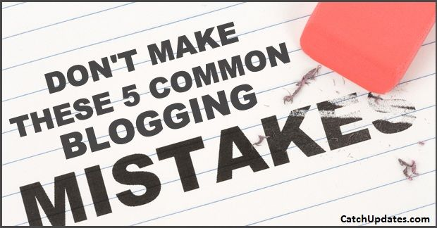 5-Common-Blogging-Mistakes