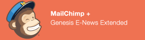 How To Configure Genesis eNews Extended Widget with MailChimp