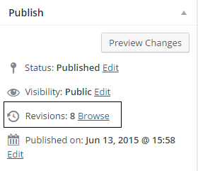 Unknown Hidden Features Of WordPress - Post Revisions