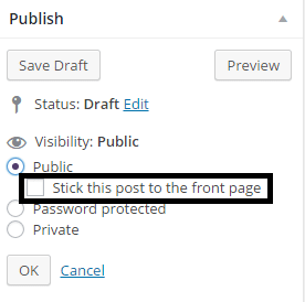 Unknown Hidden Features Of WordPress - Sticky Posts