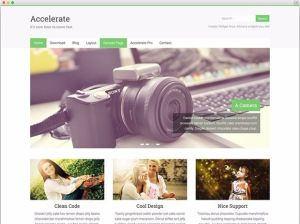 Accelerate - Best Free WordPress Themes