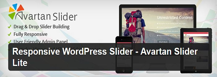 Avartan Slider Lite - Best slider plugins