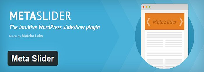 Meta Slider- Best slider plugins